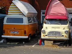 1977 Volkswagen Camper & Bedford CA Dormobile (Neil's classics) Tags: vehicle 1977 volkswagen camper van vw bedford ca dormobile camping motorhome autosleeper motorcaravan rv caravanette kombi mobilehome
