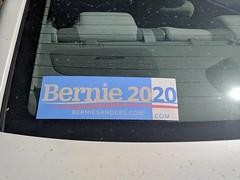 Modded Bernie 2020 sticker, Burbank, California, USA (gruntzooki) Tags: berniesanders elections stickers burbank california usa cali cal democrats