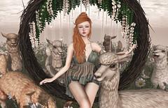 Countryside Girl (Gabriella Marshdevil ~ Trying to catch up!) Tags: sl secondlife cute kawaii doll catwa mudskin fameshed jian uber