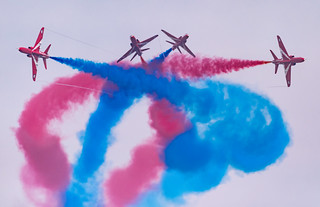 RAF Red Arrows - Gypo Break