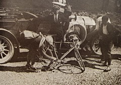 1921 TDF The Heroic Times... (Sallanches 1964) Tags: tourdefrance 1921 léonscieur tourdefrancewinners belgiancyclists mountainstage aubisque pyrenees