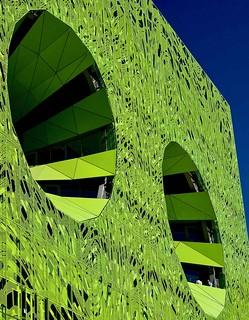 Lyon - La façade du