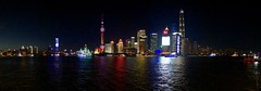 Last night in Shanghai (NettyA) Tags: asia panorama buildings river city skyline nightscape night china shanghai