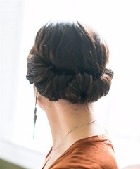 Hairstyles For Long Hair : Headband Tuck | Easy Hairstyles For Black Friday Morning Shopping You Can Wear (Fashion Inspire) Tags: