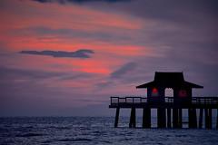 Gulf sunset (another_scotsman) Tags: naples florida gulf sunset pier seascape beach shore sky