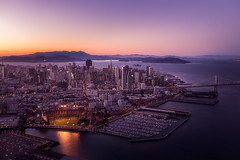 The San Francisco Skyline (tobyharriman) Tags: 2012 2014 northerncalifornia above adventure aerial air art artist attpark attractions bay bayarea best california canon city cityscape clear custom docks fineart flights fromtheair giants helicopter highdynamicrange landscape night ocean outdoor pacificnorthwest photographer photography photos pictures prints sanfrancisco sanfranciscophotography scenic sf skyline skyscrapers stadium sunset timelapsepictures tobyharriman transabuildings travel vantage vertigo views visit