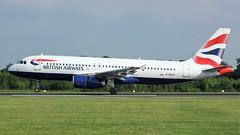 G-EUUX (AnDyMHoLdEn) Tags: britishairways a320 oneworld egcc airport manchester manchesterairport 05r