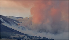Moorland Fire, Llantysilio, North Wales (Dave_Hawk) Tags: llantysilio llangollen fire moor moorlandfire northwales