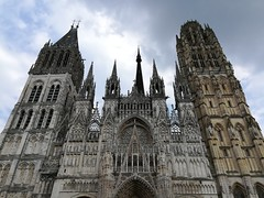 A very large church in Rouen.