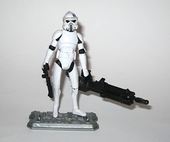 arf trooper star wars the clone wars cw18 blue black packaging basic action figures 2010 hasbro 3l (tjparkside) Tags: arf trooper troopers star wars clone blue black packaging card cardback cw18 cw 18 2010 hasbro basic action figure figures soldier republic army display stand base galactic battle game advanced reconaissance fighter fighters atrt rt all terrain recon transport blaster pistol rifle weapon weapons chaingun projectile missile tcw