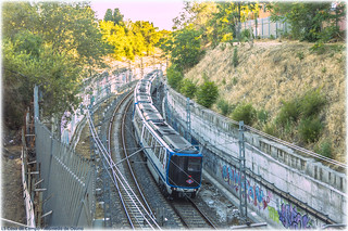 Metro en Eugenia de Montijo