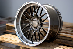 """Ace Flowform AFF04- 18""""w Bronze / Machined Lip (ACEALLOYWHEEL/AMF FORGED) Tags: aceflowform aff04 acealloywheels deeplip flowform lip wheels rims acewheels 18 aftermarket"""
