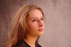 Emeline-9 (phonia20) Tags: portrait girl woman face look hair blonde studio beauty beautiful regard expression pentax eyes