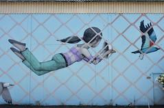 Seth_9954 Saint Malo (meuh1246) Tags: streetart seth saintmalo 35 enfant animaux oiseau mouette masque