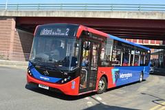 Warrington's Own Buses AD Enviro 200MMC 210 YX18KTT - Warrington (dwb transport photos) Tags: warringtonsownbuses alexander dennis enviro 200mmc bus 210 yx18ktt warrington