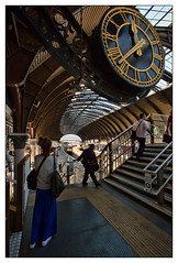 Time Exposure (david.hayes77) Tags: architecture photographer passenger train york yorkstation timepiece clock yorks yorkshire 2018 timeexposure