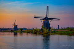 Kinderdijk Twilight (Peet de Rouw) Tags: windmolen kinderdijk dusk twilight holland dutch zuidholland peetderouw canon5dmarkiv canonef24105mmf4lisusm