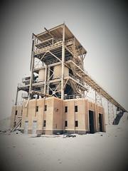 abu tartour - egypt (paolopalmaflick) Tags: egypt northafrica mine industrial desert