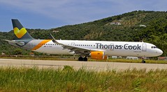 JSI/LGSK: ThomasCook Airbus A321-211 G-TCDG (Roland C.) Tags: airport skiathos greece thomascook airbus a321 a322 a321200 gtcdg aircraft airline airplane ava aviation