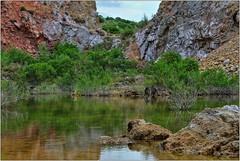 La laguna escondida (F. Fajardo) Tags: grass water tree landscape rock river heaven montana hillside color