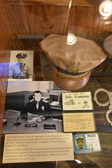 Springfield Calaboose Jail (Adventurer Dustin Holmes) Tags: 2018 springfield springfieldmo springfieldmissouri calaboose jail lawenforcement ozarks midwest museum old historic historical spd springfieldpolicedept springfieldpolicedepartment history police greenecounty interior inside hat uniform leo lawenforcementofficer lawenforcementofficers photos pictures policecommission chief samrobards chiefofpolice ltsamrobards lieutenantsamrobards identificationcards identification