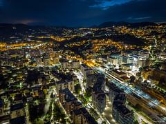 Perugia By Night (omar.morganti) Tags: perugia mavicpro mavic dji notte night city lunga esposizione