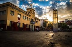 My Town Hall @santako_pics (stradou) Tags: bcn city street sunset barcelona