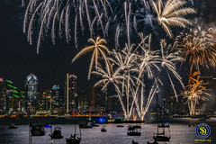 San Diego Big Bay Boom - 4th of July, 2018 - 7 (StarDude Astronomy) Tags: 4th july fireworks show san diego big bay boom county administration building government skyline sky rocketsr red glare fire city festive festivities sony alphy a7riii a7 42 megapixels celebration tom hams lighthouse photography patriot patriotism fourth explosion