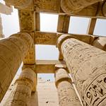 Columnas en Karnak. Lúxor, Egipto. thumbnail