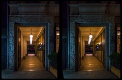 Berlin night lights 3-D / CrossView / Stereoscoy / HDRaw (Stereotron) Tags: berlin spreeathen mitte metropole hauptstadt capital metropolis brandenburg city urban night nacht architecture europe germany deutschland cross eye view xview crosseye lens1855mm100v10ftonemappinghdrhdrirawavailable light