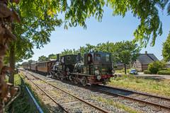 SHM 6513+7742 tijdens het Bello Festival (Marco van Zelst) Tags: bello opperdoes shm museum spoorwegen trein stoom noordholland 7742 6513 ns locomotief