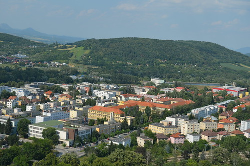 A view over the new town