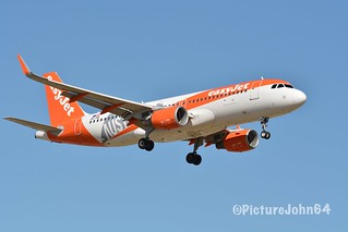 "Special Livery: EZY8871 Easyjet Europe Airbus 320 (OE-IVA)  ""Austria"" titles from London Gatwick arriving at Schiphol Amsterdam"