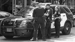 Street arrest (jonathan.pratt14) Tags: streetphotography blackandwhite bnw july2018 portlandpolice portlandoregon arrest d750