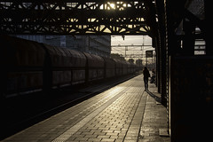 Amsterdam Silhouette (Jack Heald) Tags: amsterdam centraal train trainstation silhouette heald jack nikon d750 travel tourist netherlands europe eu