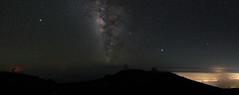 9 shot Milky Way panorama (Aaron Lynton) Tags: haleakala maui hawaii paradise unreal crater amaing amazing nature
