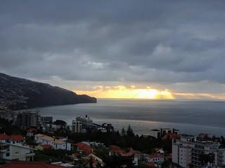 Sunrise over Funchal