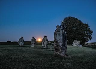 Avebury Moonrise