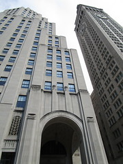 IMG_5385 (Brechtbug) Tags: afternoon archway with gates met life buildings next madison square park arch architecture avenue 23rd street nyc photographed 2018 new york city clock tower downtown manhattan flatiron district east side pedestrian walkway july 07152018 gate art deco style