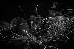 The Sparks (stujfoster) Tags: mono farm shed urbex gritty urban uk england