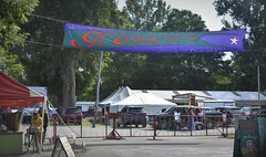 Grassroots Festival (80's All Week Then More Rain-Yay!) Tags: grassrootsfestival trumansburgny tents banner colourful music dancing celebrating 365the2018edition 3652018 day199365 18jul18