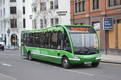 Nottingham Community Transport 976 YJ64DZV (Will Swain) Tags: nottingham 6th april 2018 nottinghamshire bus buses transport travel uk britain vehicle vehicles county country england english community 976 yj64dzv