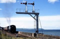 Stranraer Harbour 45407 28May2000 img640 (Ernies Railway Archive) Tags: ppwjr gswr cr lms scotrail stranraerharbourstation