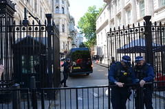 Entering Downing Street (afagen) Tags: london england uk unitedkingdom greatbritain westminster downingstreet 10downingstreet number10