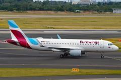 Eurowings D-AIZQ Airbus A320-214 Sharklets cn/5497 @ EDDL / DUS 16-06-2017 (Nabil Molinari Photography) Tags: eurowings daizq airbus a320214 sharklets cn5497 eddl dus 16062017