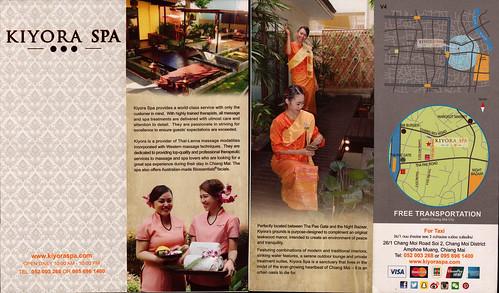 Kiyora Spa Chiang Mai Thailand 1