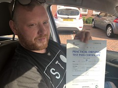 Massive congratulations to Tomazs passing his driving test with only two minor faults.   www.leosdrivingschool.com