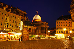 Dresden by night. Neumarkt (Andrey Sulitskiy) Tags: dresden germany