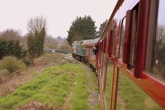 County of Essex on the Branch. (Chris Baines) Tags: 47580 griffin wharf branch wherstead road bridge charity railtour the mayflower