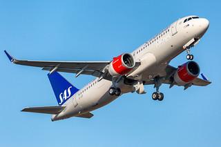 EI-SIF Airbus A320-251N SAS Scandinavian Airlines Ireland